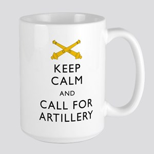 Keep Calm Call for Artillery Mug